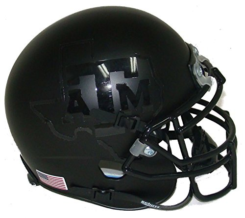 Texas A&M Aggies Alternate 4 Schutt Mini Football Helmet