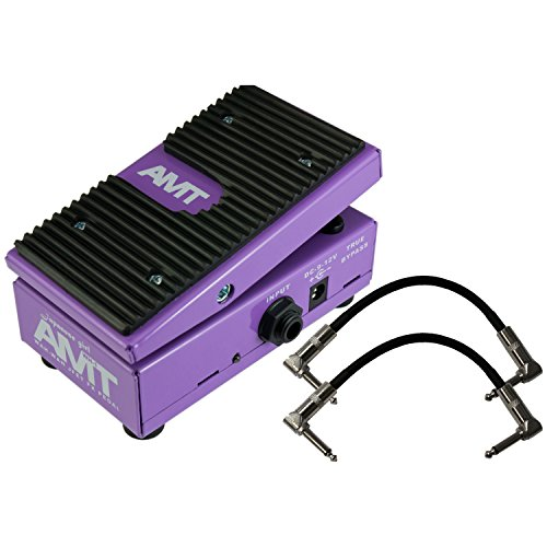 AMT WH-1 Japanese Girl Wah Wah Pedal w/ 2 Cables (Amt Electronics compare prices)
