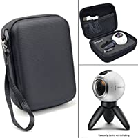 CaseSack Ballistics Surface Carrying Case with Soft Fleece Inner Mesh Pouch for Samsung Gear 360 Degree Spherical Camera