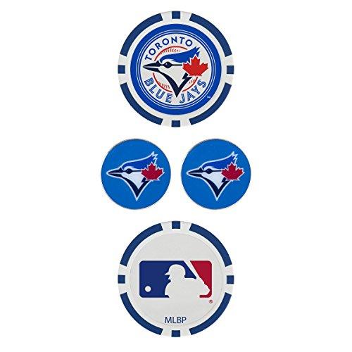 Team Effort MLB Toronto Blue Jays Ball Marker Setball Marker Set, NA (Toronto Blue Jays Golf Ball)