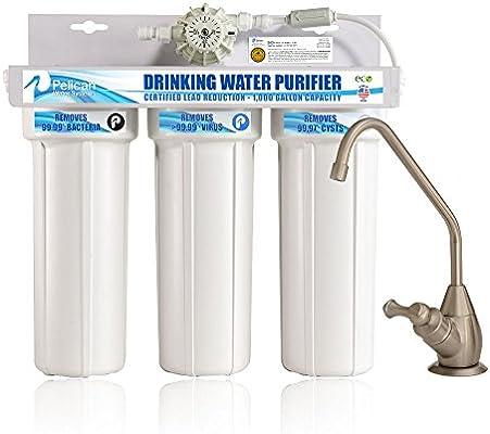 Pelican Water PDF-1000VF-BN Dispensador de purificador de agua ...