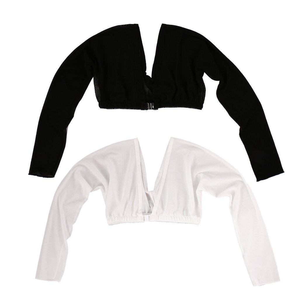 b831f3434b045e MonkeyJack 2 Pcs Women Arm Slim Long Sleeve From Flab To Fab Corrector  Slimmer Shapewear at Amazon Women s Clothing store