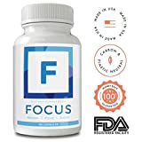 Focus and Memory Nootropics Supplement - Neuro Boost/Brain Booster for Peak Energy, Mental
