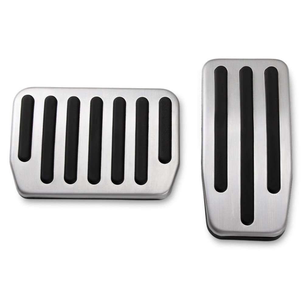 Non-Slip Performance Accelerator /& Brake Aluminum Pedal Covers Pads for Tesla Model S and Model X A Set of 2