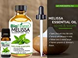 Biofinest-Melissa-Essential-Oil-100-Pure-Undiluted-Premium-Organic-Therapeutic-Grade-Best-for-Aromatherapy-Ease-Stress-Headache-Indigestion-Muscle-Sore-Acne-Wounds-Cuts-FREE-E-Book