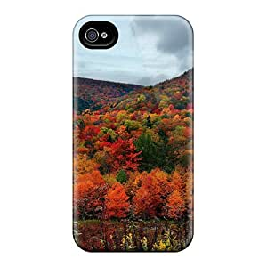 Sanp On Cases Covers Protector For Iphone 6 (colorful Trees)