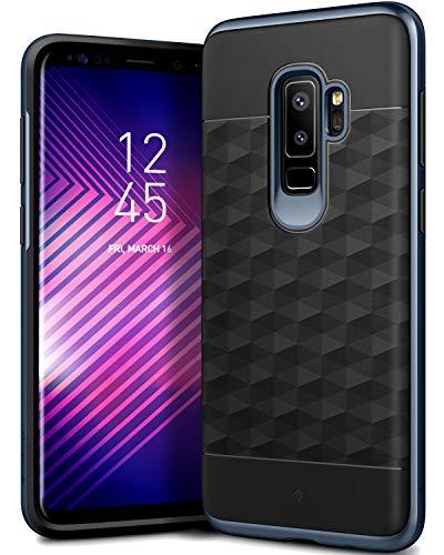 Caseology [Parallax Series] Galaxy S9 Plus Case - [Award Winning Design] - Black/Deep Blue