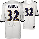 Eric Weddle Baltimore Ravens Autographed Nike White Game Jersey - Fanatics Authentic Certified - Autographed NFL Jerseys