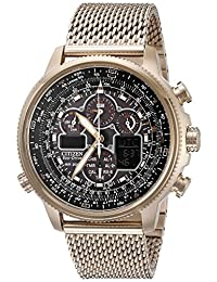 Citizen Men's Navihawk A-T JY8033-51E Wrist Watches, Black Dial