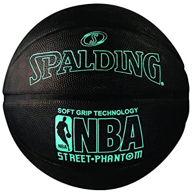 "Spalding NBA Street Phantom Outdoor Basketball (Size 7/29.5"") by Spalding"