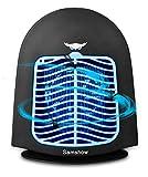 Samshow Bug Zapper Light - Lot Light with Photocell - Indoor Pole Mount Light for Large Area
