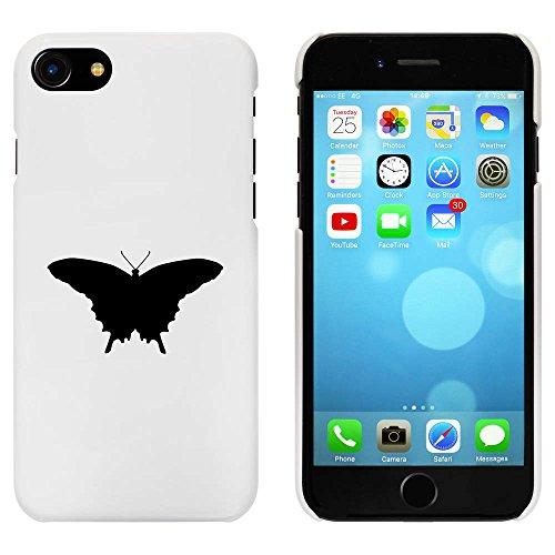 Blanc 'Beau Papillon' étui / housse pour iPhone 7 (MC00086907)