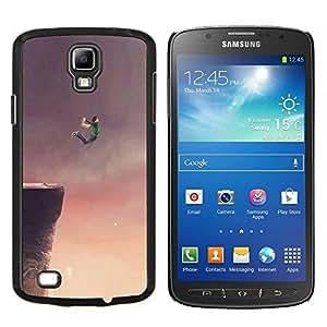 TECHCASE---Cubierta de la caja de protección para la piel dura ** Samsung Galaxy S4 Active i9295 ** --Volar Sueño acantilado Salto Base Arte Dibujo