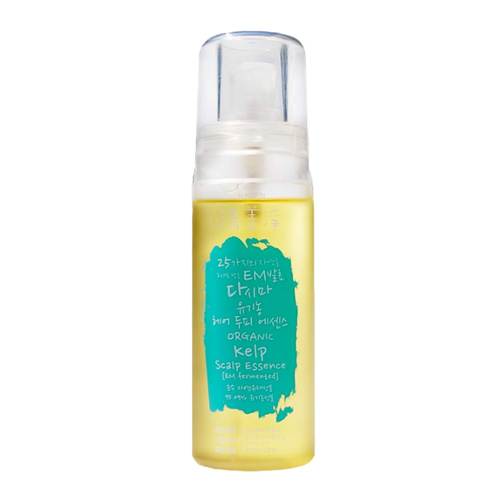 [ChungMiJung]Natural Kelp&Scap Essence - Natural Scalp and Hair Essence with Orgainc Aloe Extract-based and Organic Natural Ingredients Scalp Treatment