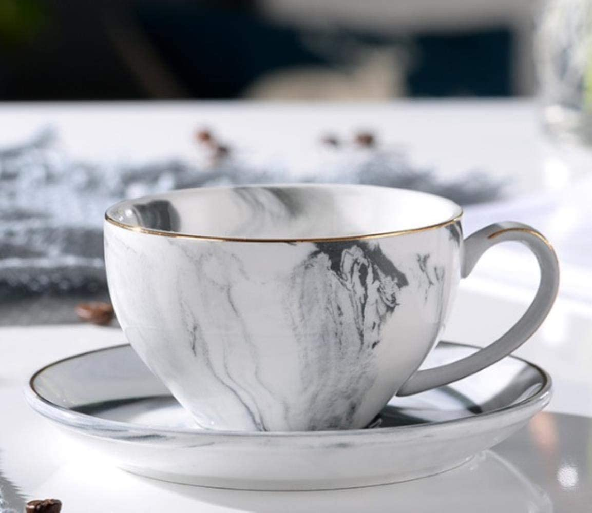 Elegant European Style TeaCoffee Cup and Saucer set