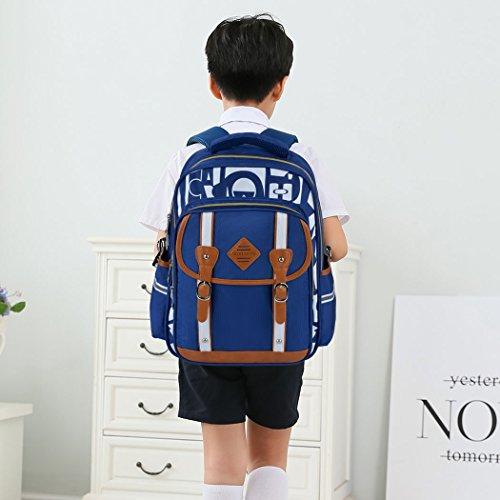 Backpack Kid,Bageek School Bags Backpacks for School Bookbag Rucksack Backpack Waterproof Backpack(blue) by Bageek (Image #1)