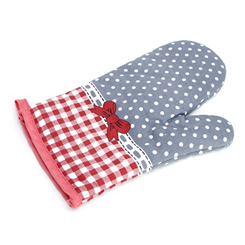 Redriver Microwave Oven Mitt Insulated Non-Slip Thickening Glove Kitchen Cooking Tools (Butterfly) ()