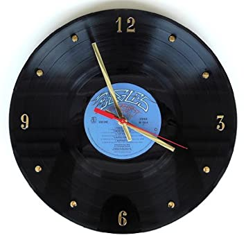 Eagles Vinyl Record Clock Greatest Hits