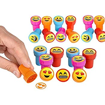 Emoji ink stampers emoticon stamps play for Emoji ink