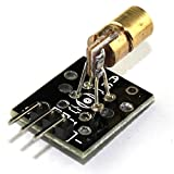 HUABAN 3 Pack KY-008 650nm 5V Laser Sensor Module