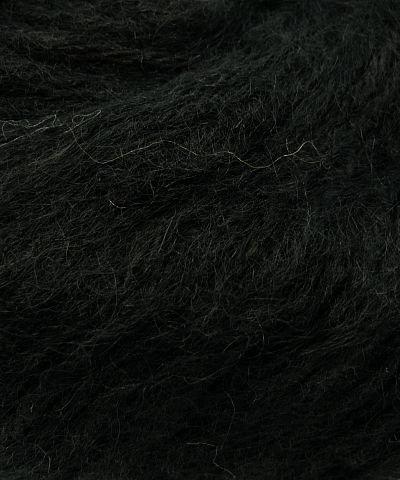 Plymouth Alpaca Yarn (Plymouth Alpaca Brush Yarn - Black #500)