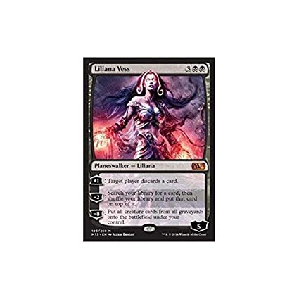 Magic: the Gathering - Liliana Vess (103/269) - Magic 2015