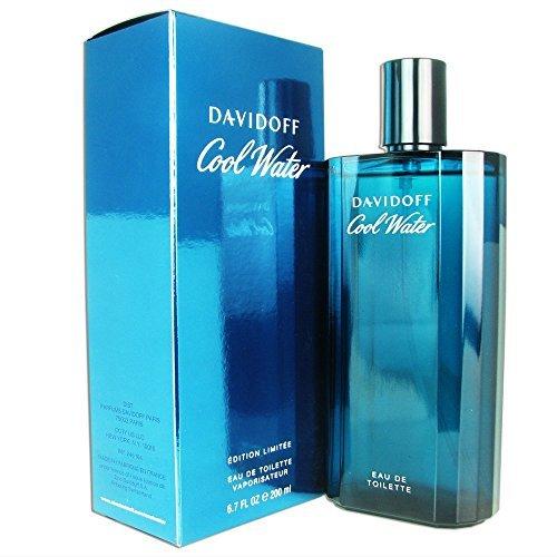 Davidoff Cool Water Eau de Toilette Spray for Men, 6.7 Ounce