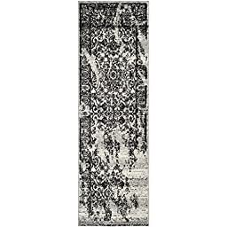 Safavieh Adirondack Collection ADR101A Silver and Black Oriental Vintage Runner (2\'6\