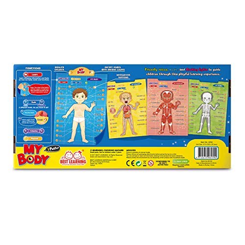 BEST LEARNING i-Poster My Body - Interactive Educational Human Anatomy Talking Game Toy System to Learn Body Parts, Organs, Muscles and Bones for Kids Aged 5 to 12 by BEST LEARNING (Image #7)