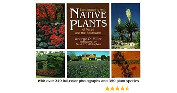 Landscaping With Native Plants Of Texas And The Southwest Natural