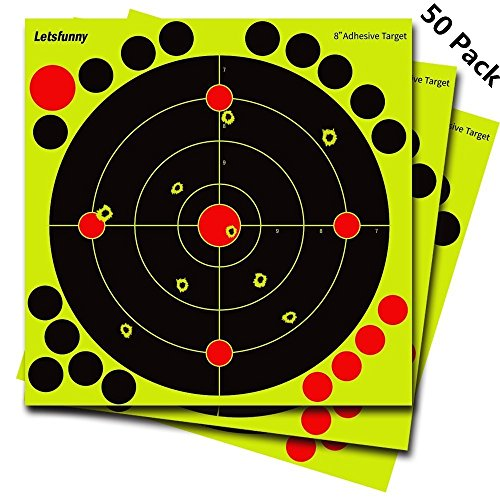Reactive Shooting Targets - Splatter Target with 19 Adhesive