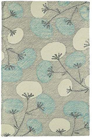 Kaleen Rugs Montage Collection MTG05-75 Grey Hand Tufted 5' x 7'9″ Rug