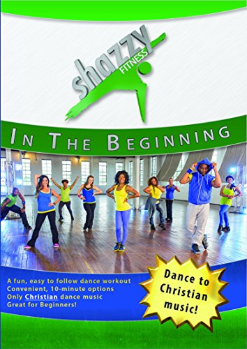 Shazzy Fitness: in The Beginning DVD Dance Workout - Beginner, Low Impact Faith Based Home Cardio Exercise Video for All - Adults, Women, Kids, Seniors - with Christian Music