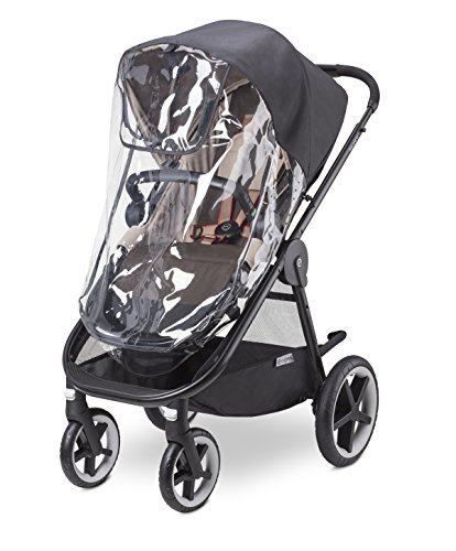 CYBEX Iris M- Air and Balios M Stroller/Cot Rain Cover, Black by Cybex
