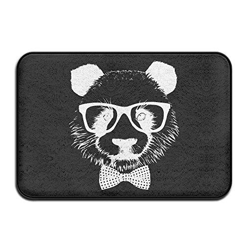 Non Slip Absorbent Door Floor Mat Panda Glasses Bedroom Floor Absorbent - Giovanni Glasses