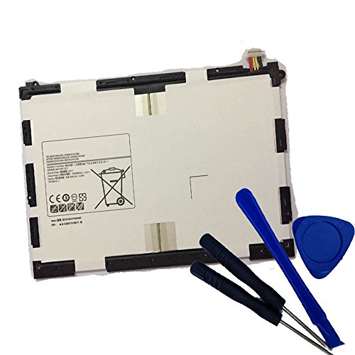 Powerforlaptop Internal Replace EB-BT550ABE EB-BT550ABA Battery + Repair tools For Samsung Galaxy Tab A 9.7'' Tablet SM-T550 SM-P550 SM-T555C SM-T555 SM-P351 SM-T550NZAAXAR by powerforlaptop