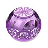 Exercise & Fitness: NSD Powerball Purple Haze Gyroscopic Wrist and Forearm Exerciser Powerball Haze with Neon Lights - Purple