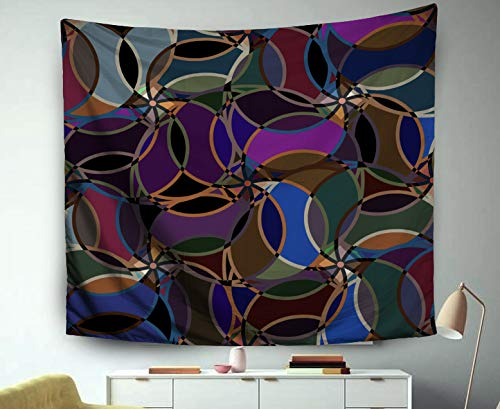 A Tapestry,Jacrane Art Tapestries With 60X50 Inches Abstract Colorful Pattern Background Backdrop Can Be Used Wallpaper Pattern Fills Web Page Background Sur For Dorm Bedroom Living Home Decor ()