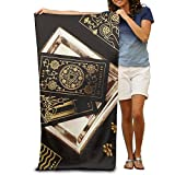Unisex Bath Towels Mysterious Tarot Towel Blanket Maximum Softness And Absorbency For Luxury Hotel & Spa