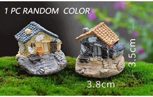 WARDE 6 unids Vintage Artificial Piscina Torre casa de Hadas jardín decoración del hogar Mini Craft Micro paisajismo decoración, Estilo 0024: Amazon.es: Hogar