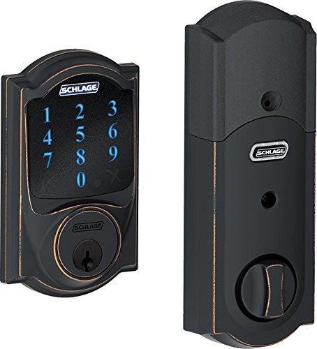 Schlage Be468cam716 Touchscreen Deadbolt W Alarm