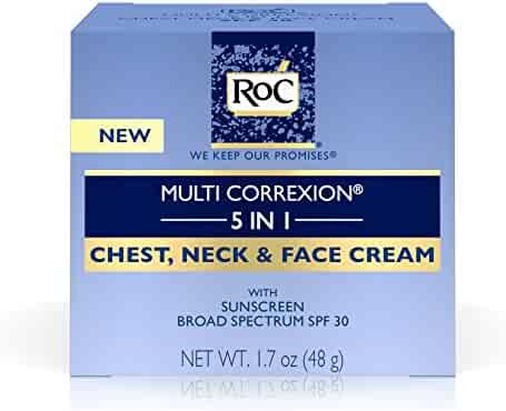 Roc Multi Correxion 5 In 1 Anti-Aging Chest, Neck & Face Cream With spf 30,  1.7 Oz.