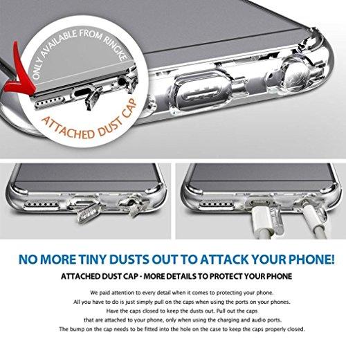 For iPhone 6 Plus / 6S Plus Hülle, Ouneed Klare transparente Premium-Kristall weichen Silikon-Stoßkasten mit zurück Fall Hülle für das IPhone 6 Plus 5.5 ''