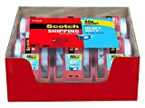 Scotch Heavy Duty Shipping Packaging Tape RSG9, 1.88 inches x 800 inches, 12 Rolls with Dispenser