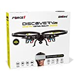 U818A Wifi FPV Drone with Altitude Hold and HD Camera - Black
