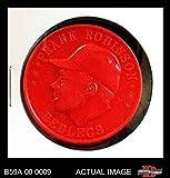 1959 Armour Coins # 14 RED Frank Robinson Cincinnati Reds (Baseball Card) (Red) Dean's Cards 6 - EX/MT Reds