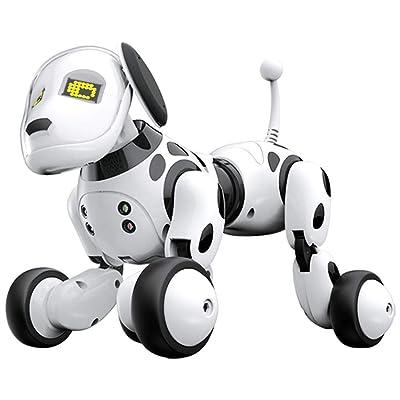 Robot Dog Wireless Remote Control Intelligent Children's Smart Toys Talking Dog Robot Electronic Pet Toy Birthday Gift : Baby