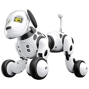 Robot Dog Wireless Remote Control Intelligent Children's Smart Toys Talking  Dog Robot Electronic Pet Toy
