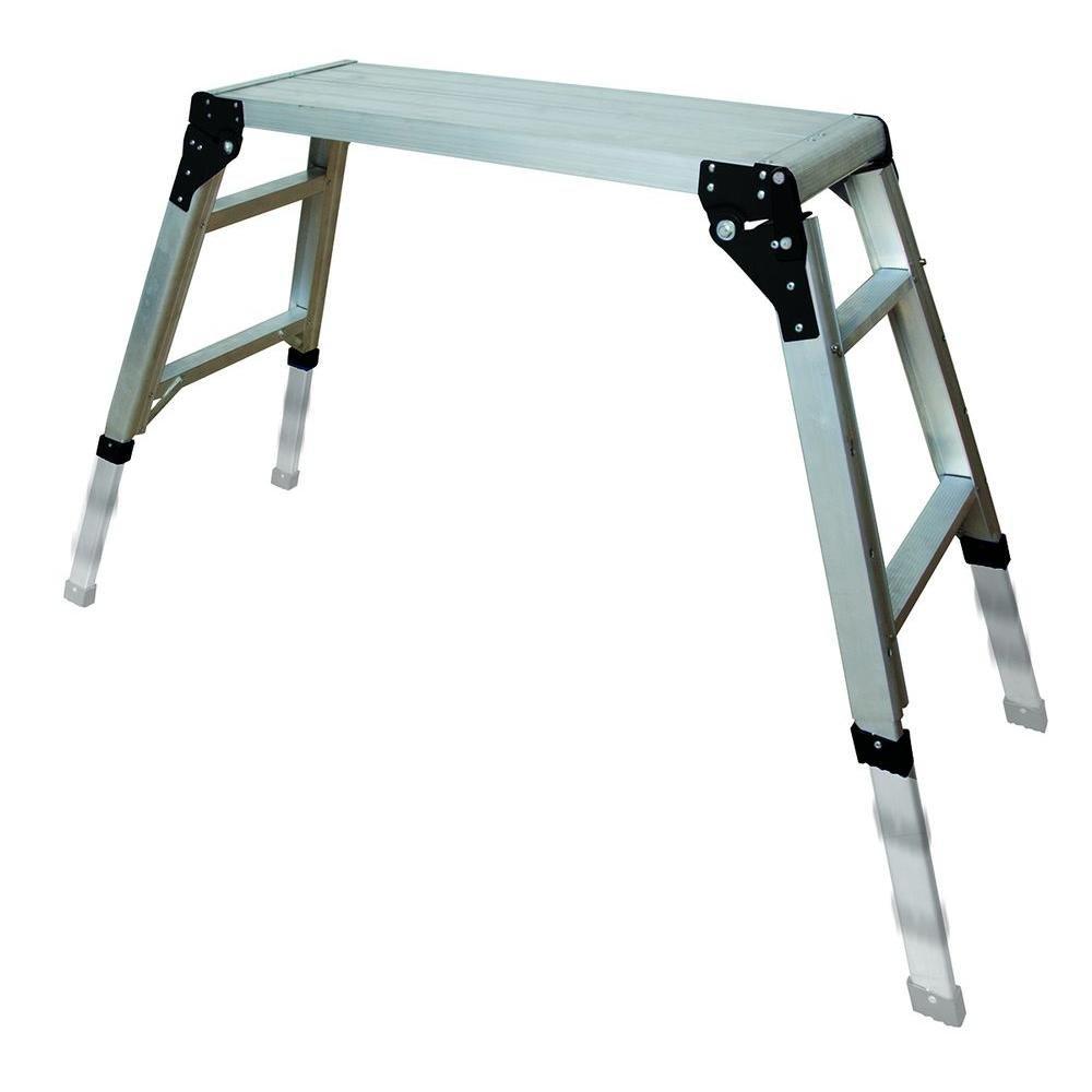 Metaltech E-PWP7101AL 30.75 in. x 11.75 in. Adjustable Portable Work Platform