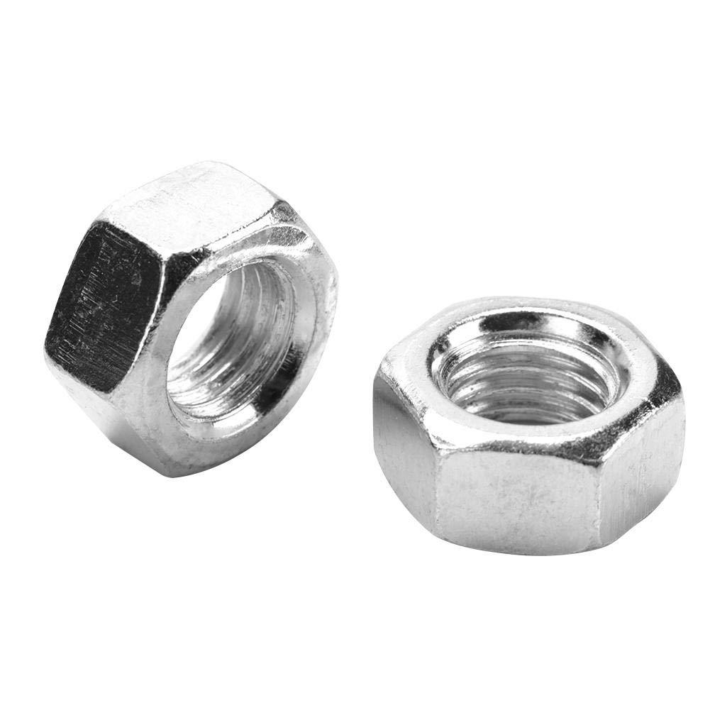 M18(10pcs) Kit d/écrous /à rivet 10pcs//set /Écrous hexagonaux hexagonaux filet/és en acier au carbone zingu/és M16-M27
